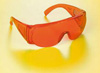 Окуляри захисні фотополімерні (Falcon), DZ.9000.03, Protective glasses Orange for use during light curing, Autoclavable - 270.91 грн