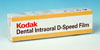 Пленка рентгеновская (Kodak), Dental Intraoral D-Speed Film, 100 шт, Size2 - 31мм х 41мм - 160.00 грн